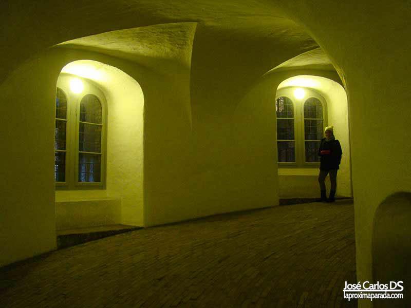 Interior Torre Redonda Rundetarn - Copenhague