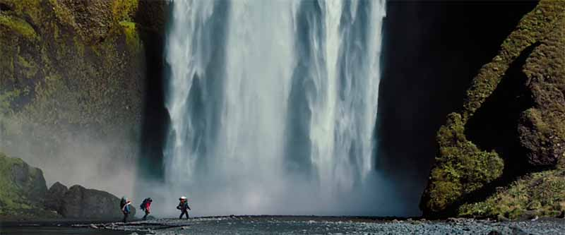 Paisajes Islandia en The Secret Life of Walter Mitty