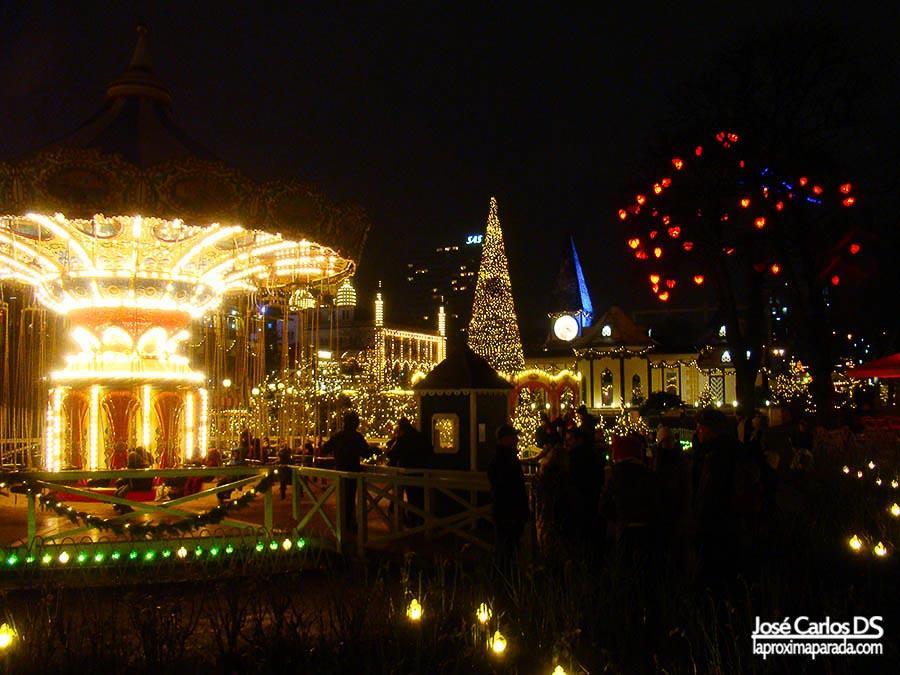 Atracciones Tivoli de Copenhague
