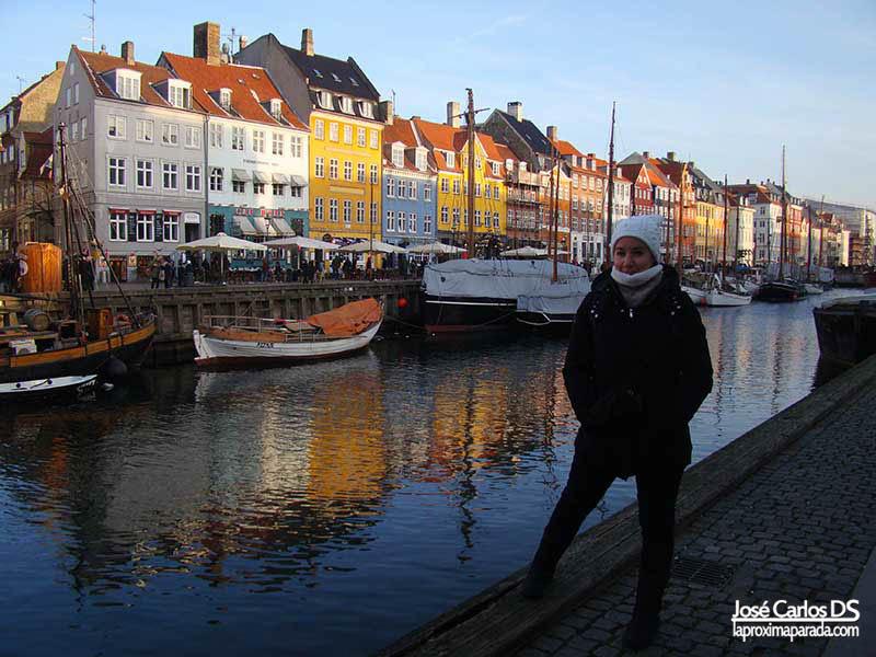 Fachadas de Nyhavn en Copenhague