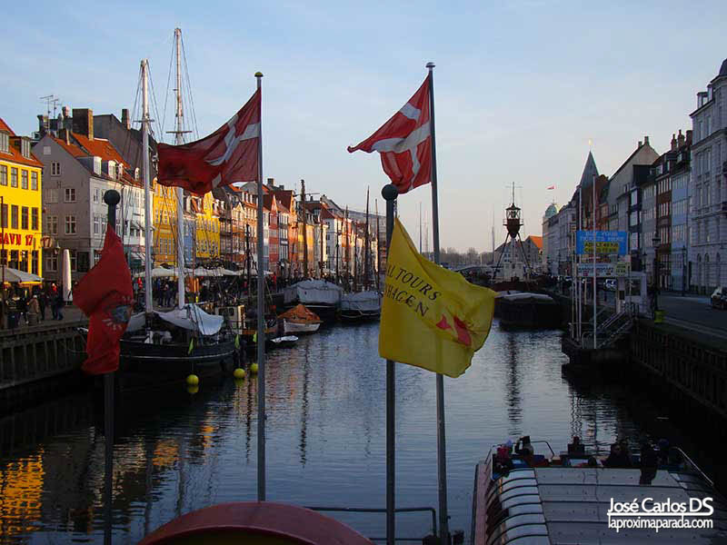 Cruceros Nyhavn en Copenhague