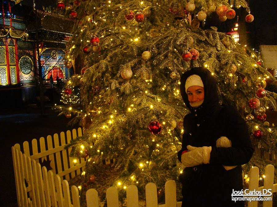 Árbol de Navidad Jardines de Tivoli