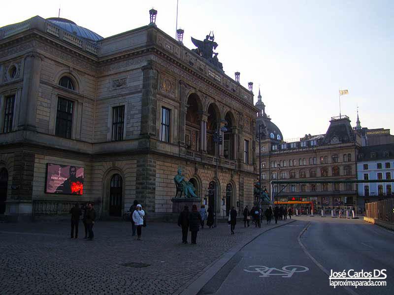 Teatro Real en Kongens Nytorv Copenhague