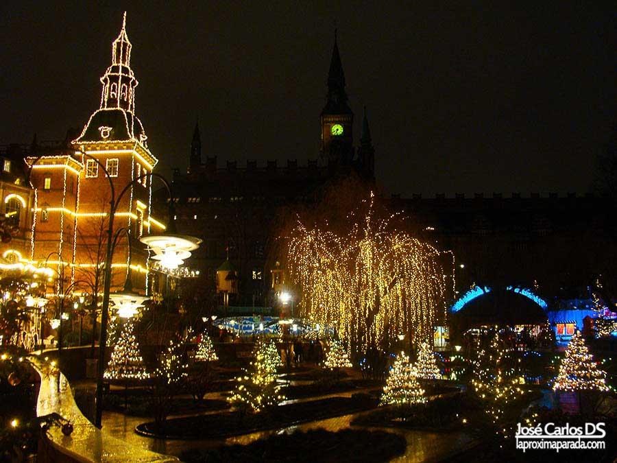 Ayuntamiento Copenhague desde Tivoli