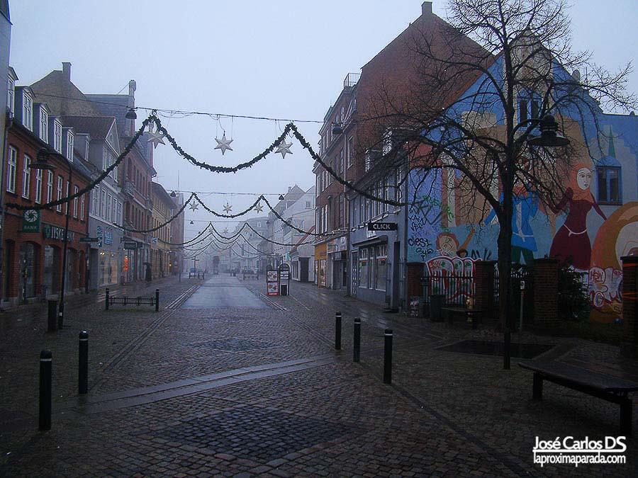 Algade, calle principal Roskilde
