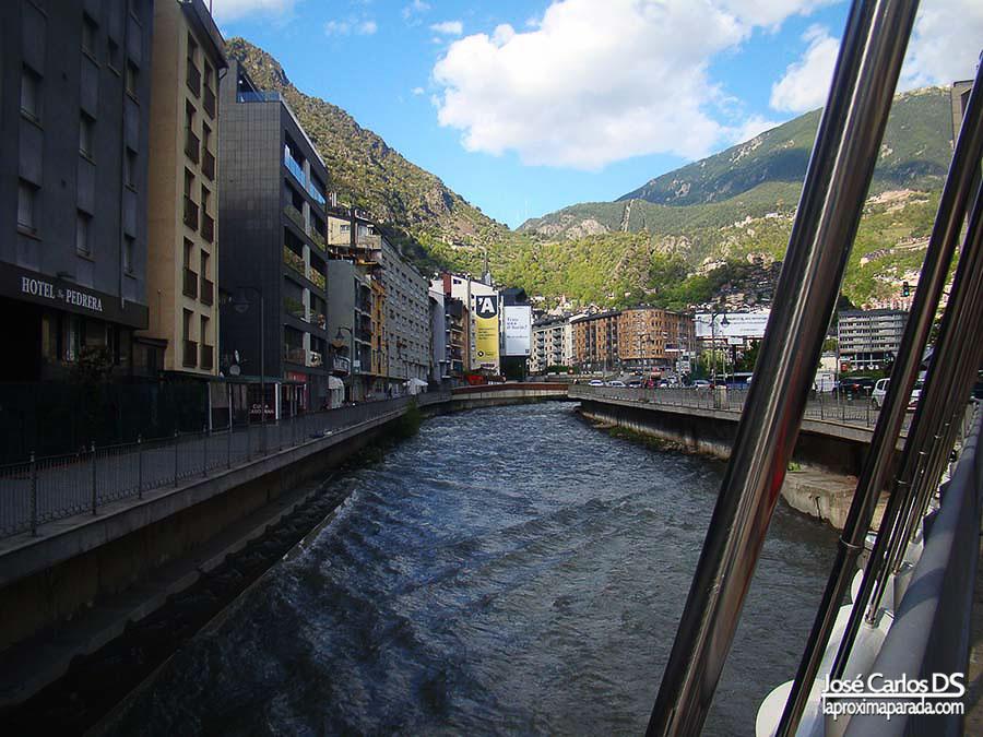 Andorra la Vella Río Valira