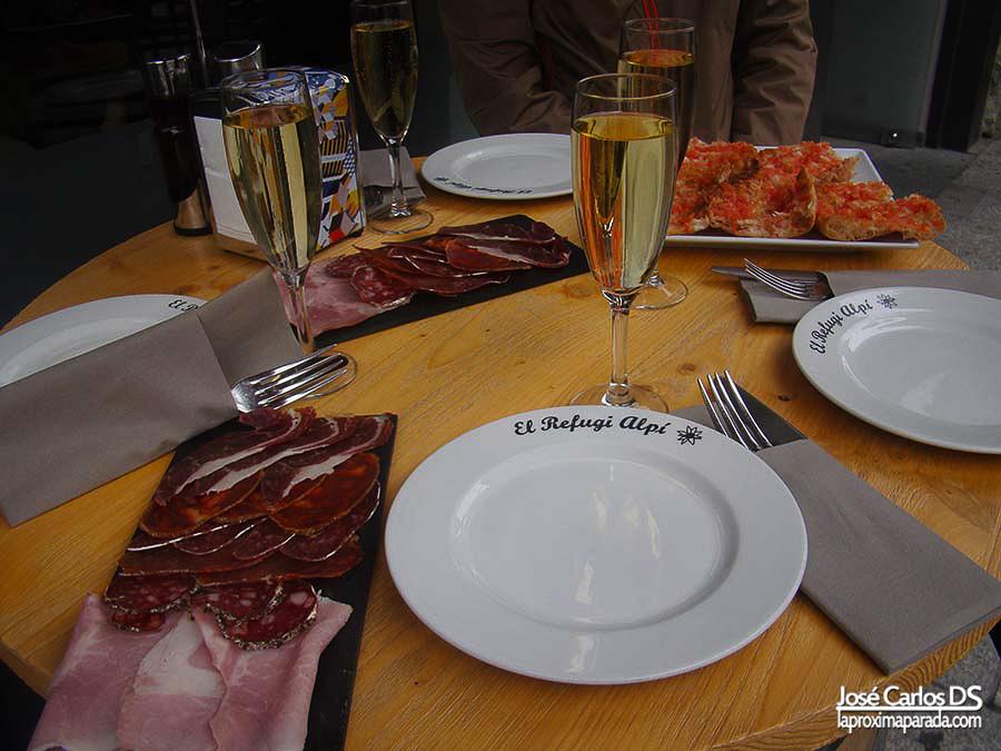 Restaurante El Refugi Alpi Andorra la Vella