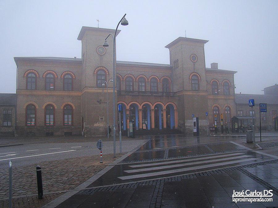 Estacion Roskilde Copenhague