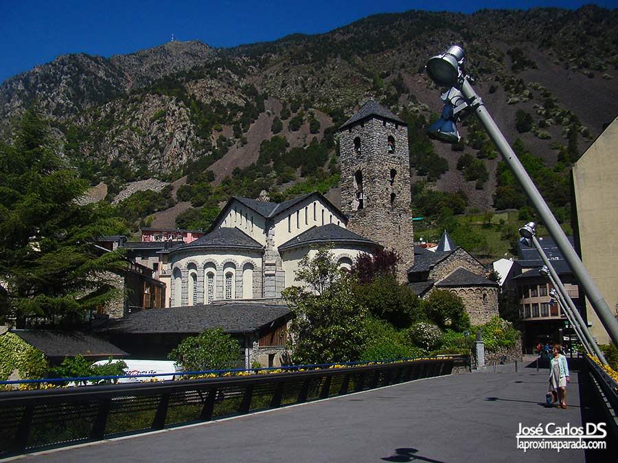 Iglesia de San Esteban en Andorra la Vella