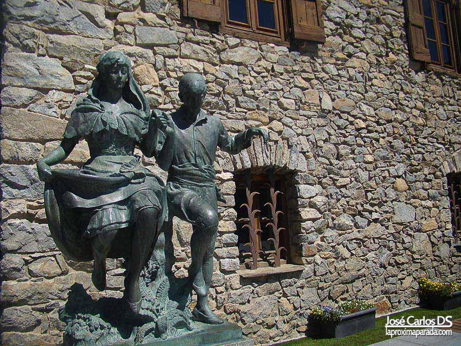 La dansa del escultor Francesc Viladomat en Andorra