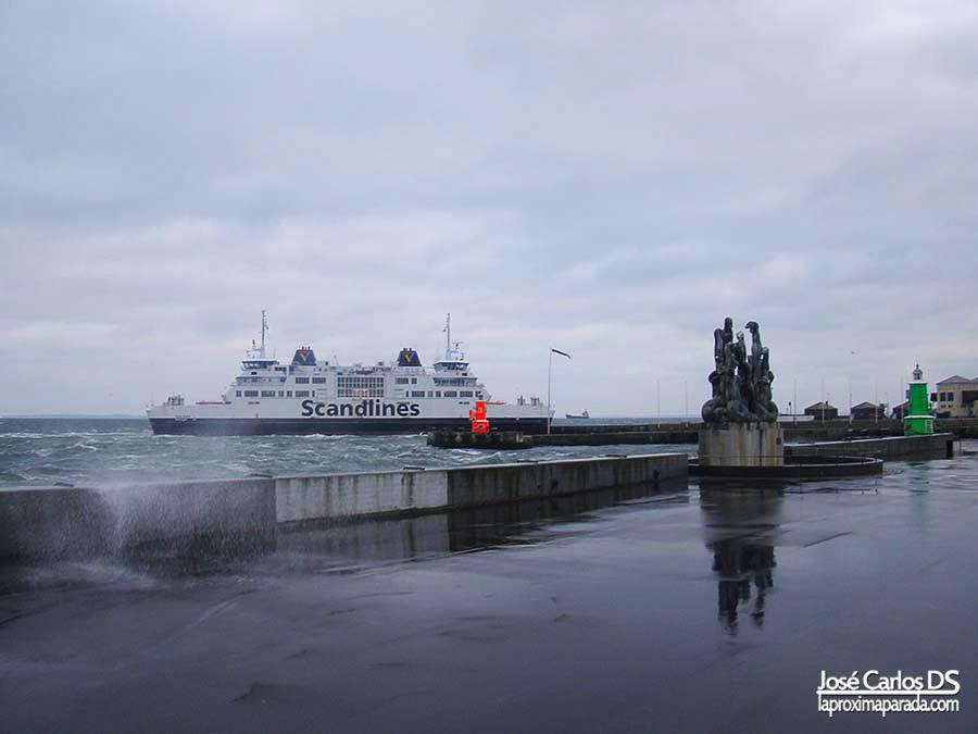 Ferry Helsingør a Helsingborg