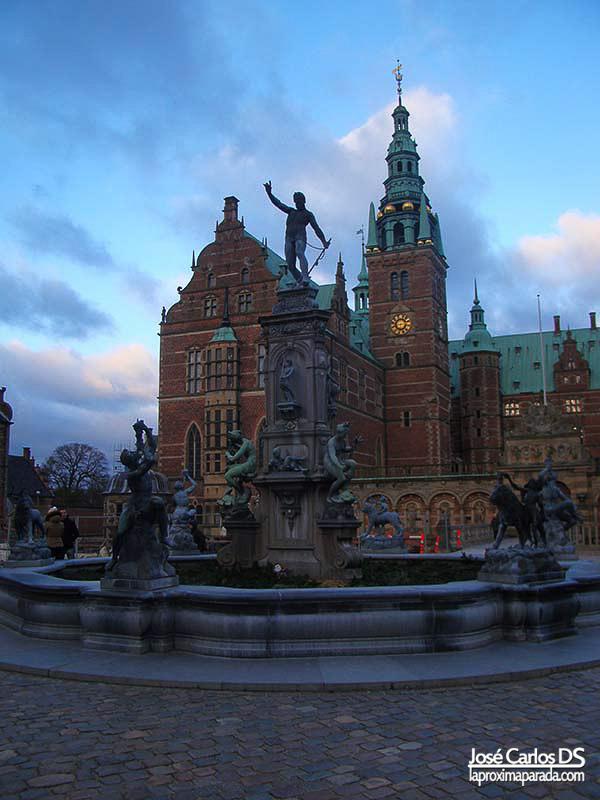 Fuente Neptuno Castillo de Frederiksborg