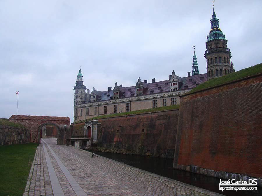 Castillo de Hamlet en Dinamarca
