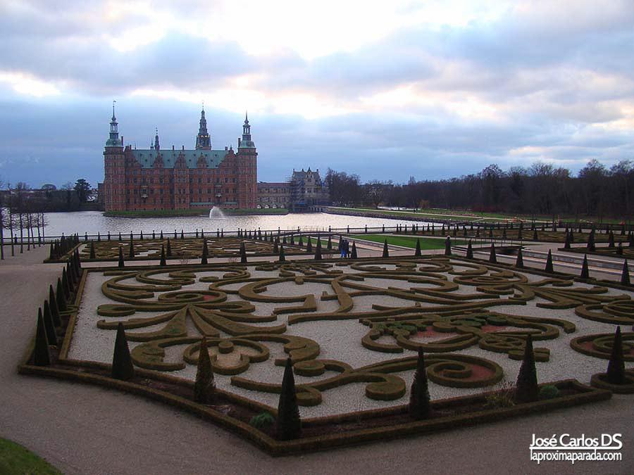 Jardines Castillo de Frederiksborg