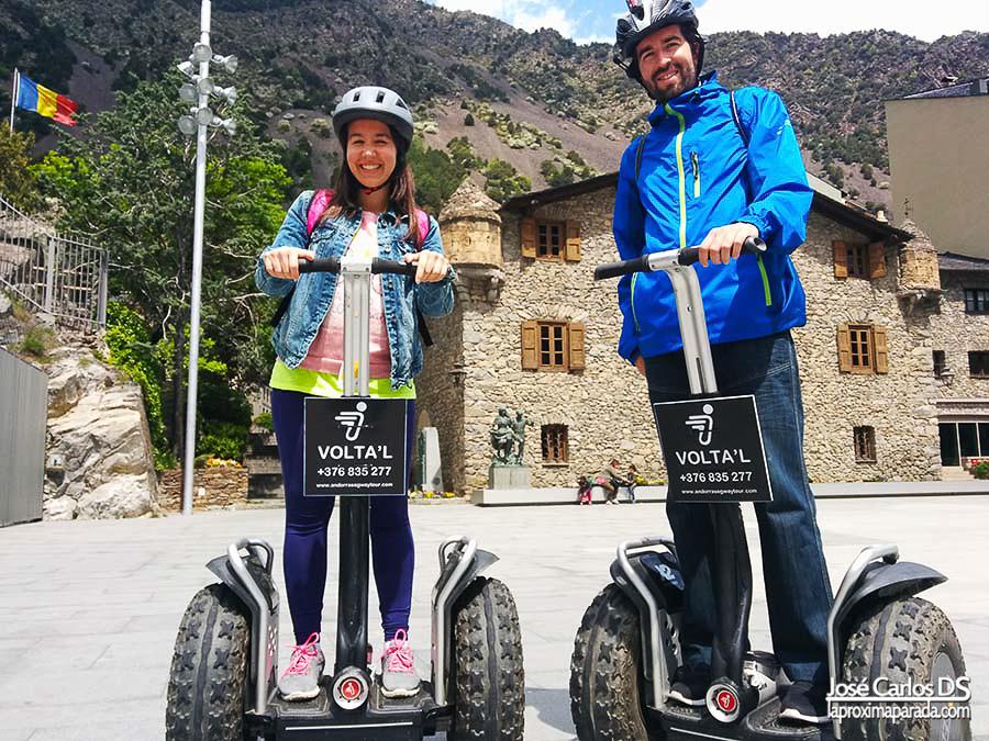 VOLTA'L Andorra Segway Tour