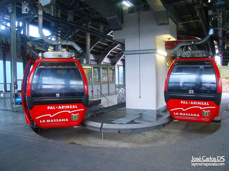 Teleférico de Vallnord en Andorra