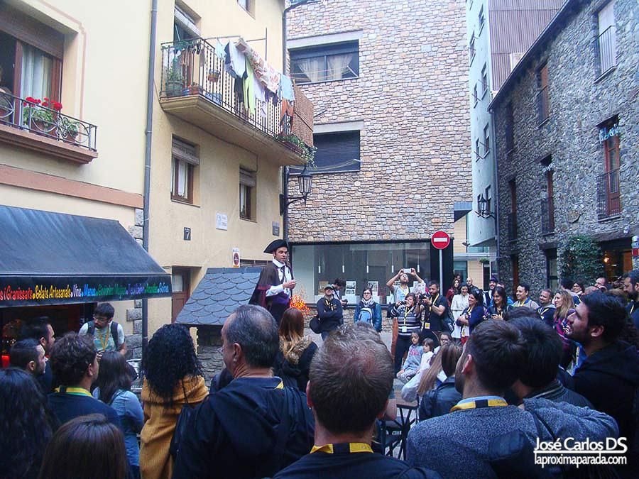 Visita teatralizada Andorra la Vella