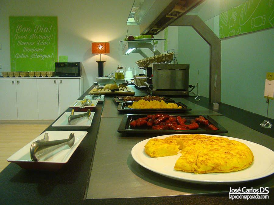 Desayuno Buffet Hotel Exe Princep