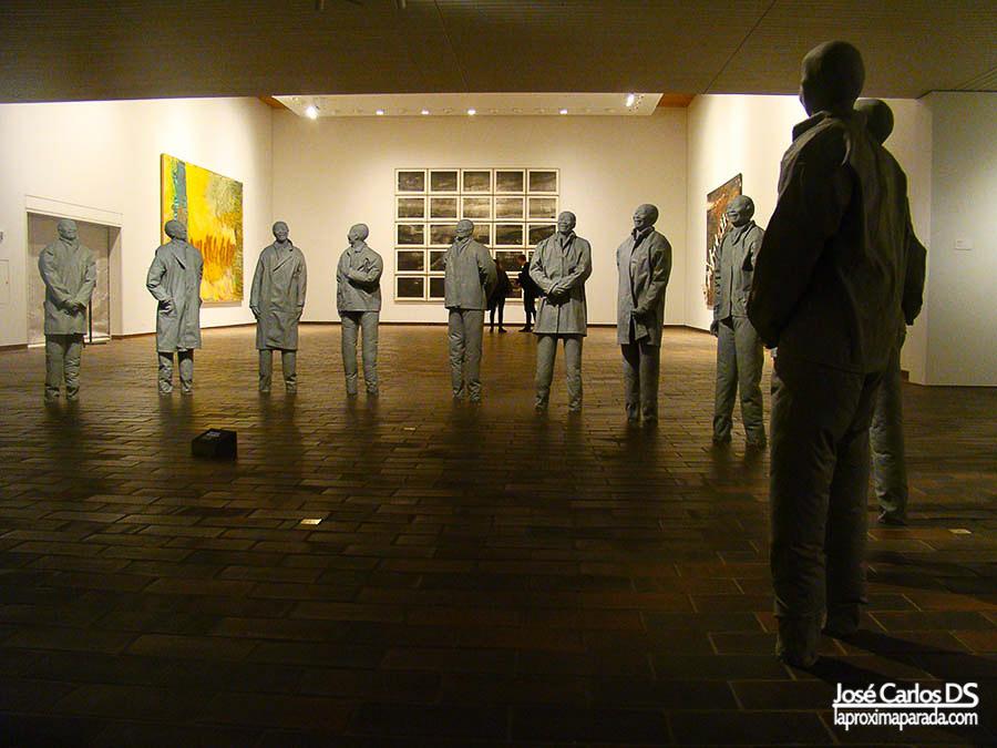 Galería Giacometti museo Louisiana
