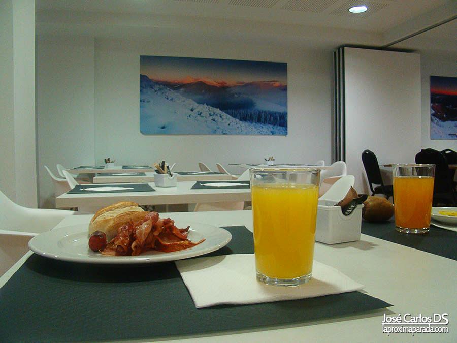 Desayuno en Hotel Exe Princep