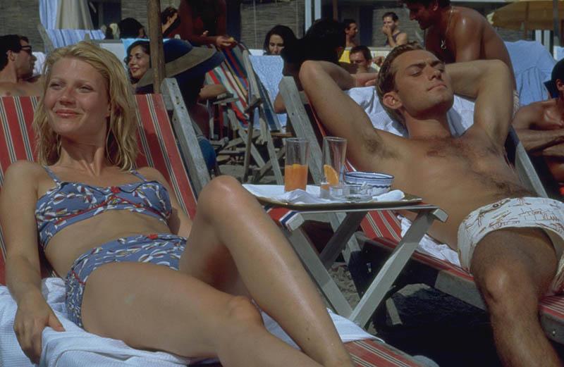 Jude Law & Gwyneth Paltrow en El talento de Mr Ripley