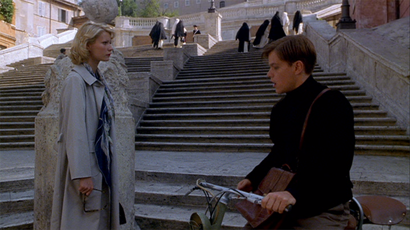 Marge & Tom en Roma Talento de Mr Ripley