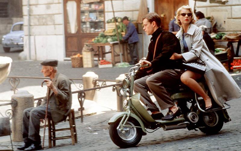 Paseo por Roma en El talento de Mr Ripley