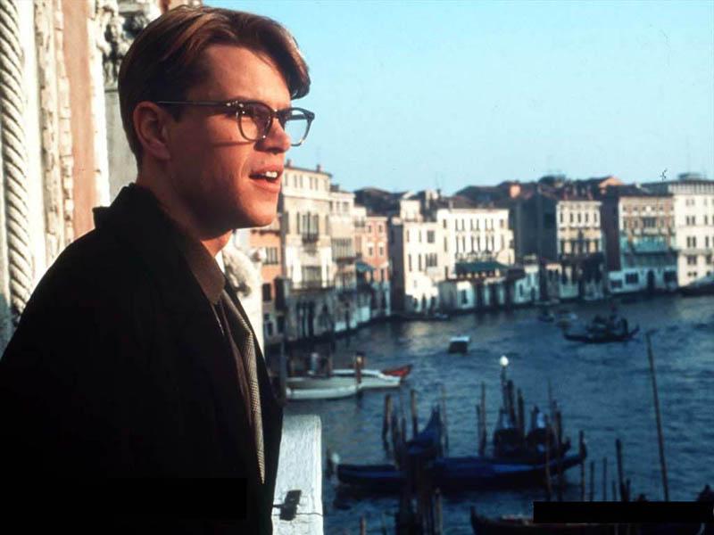 Venecia con Tom Ripley en El talento de Mr Ripley