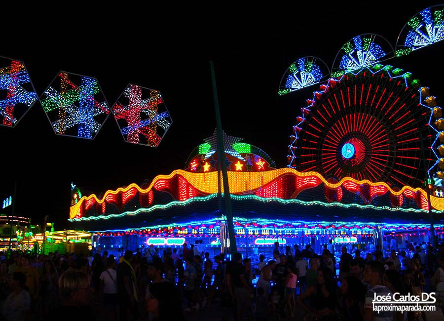 Atracciones de la Feria de Málaga