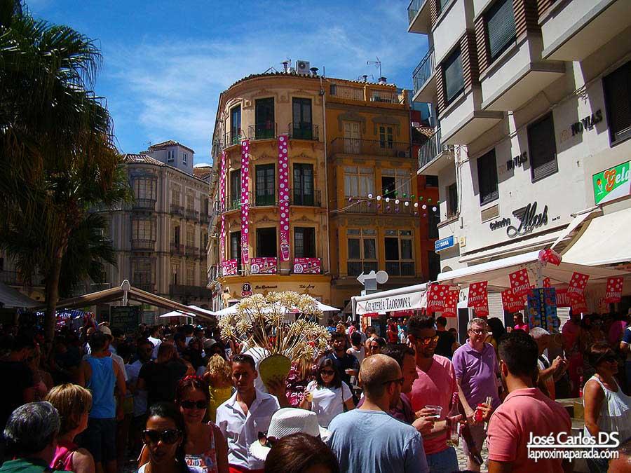 Biznagas en Feria de Málaga