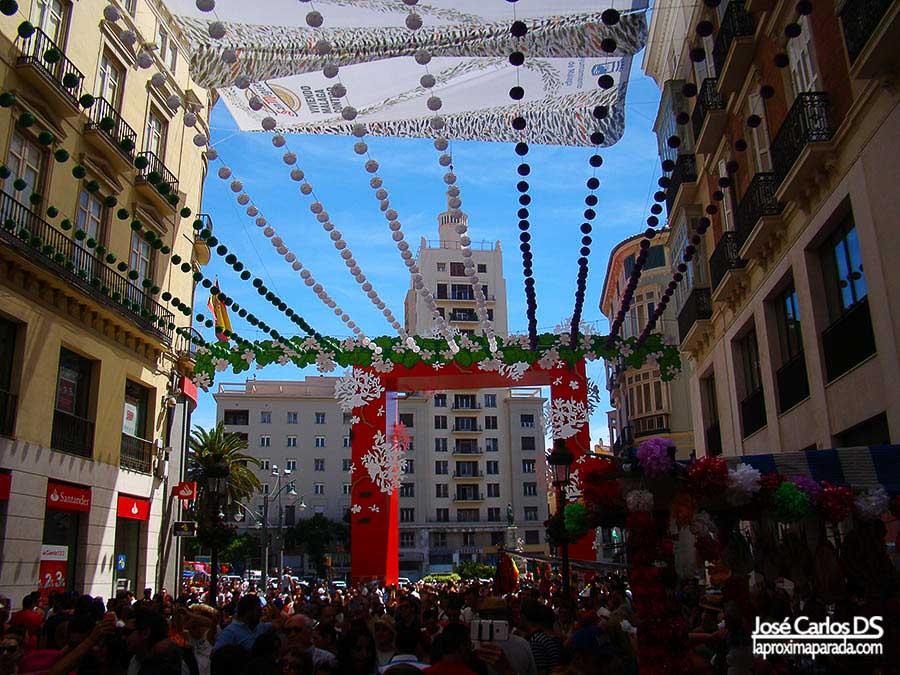 Calle Larios en Feria de Agosto