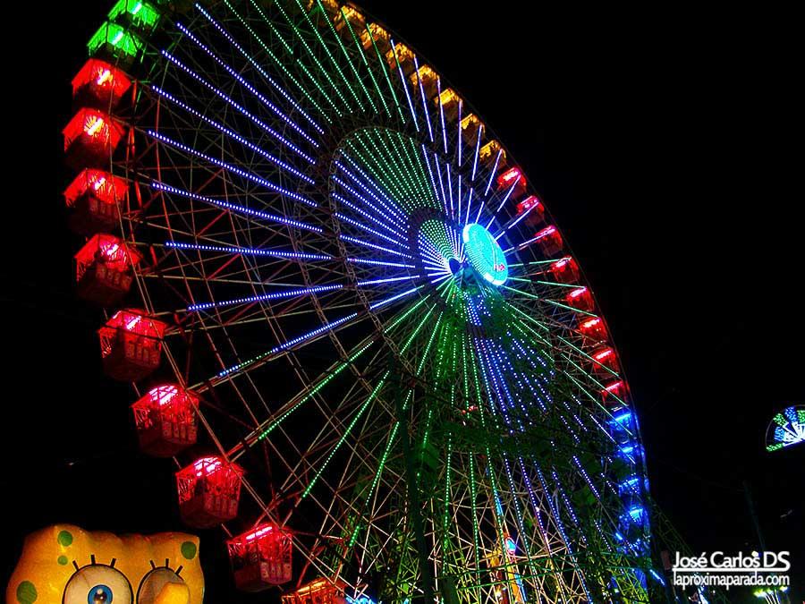 Noria de la Feria de Málaga