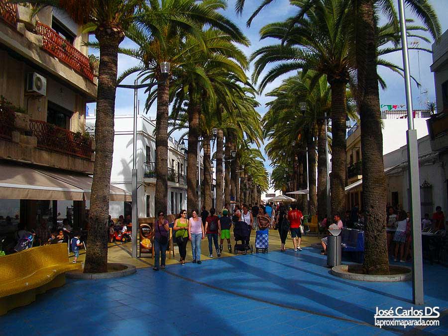 Paseo de las Palmeras, Isla Cristina