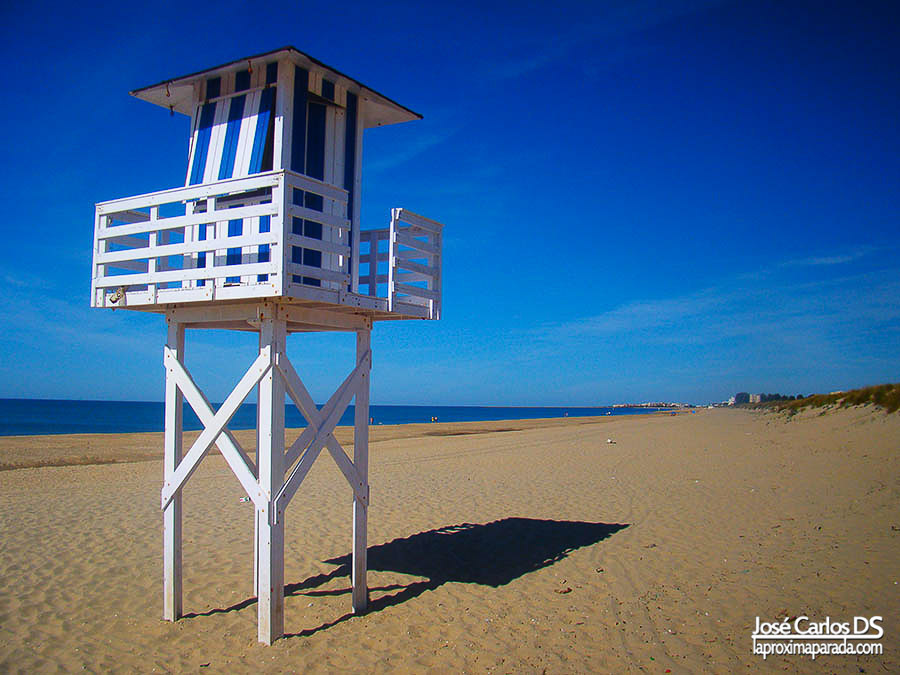 Playa Casita Azul de Isla Cristina