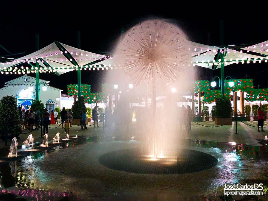 Plaza típica Feria de Málaga