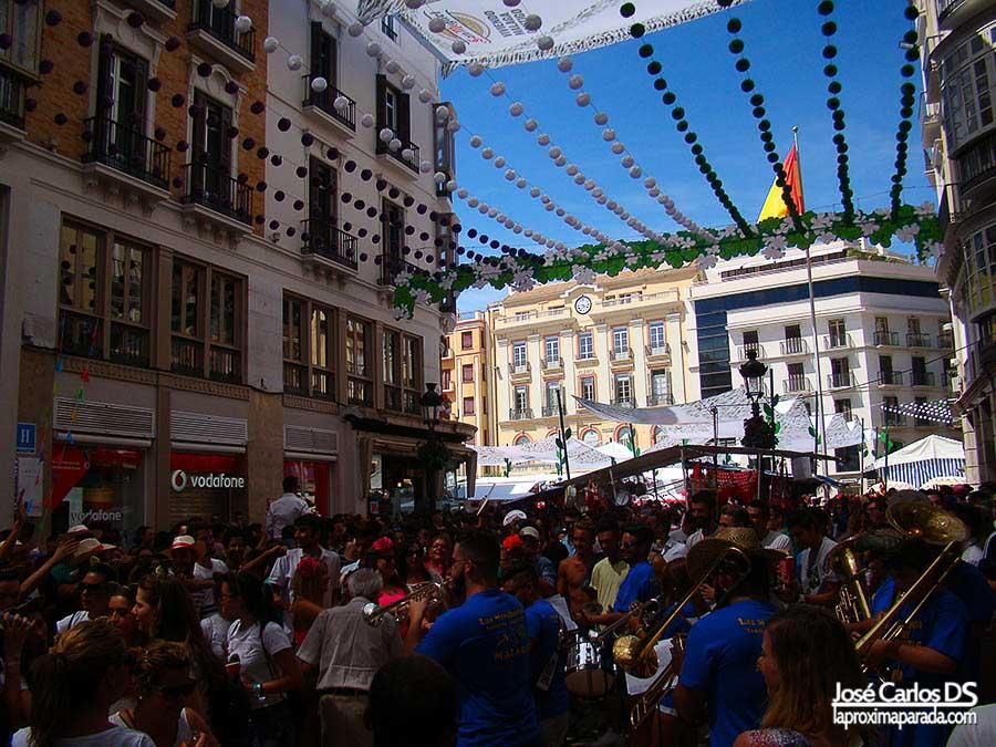 Plaza de la Constitución Feria de Málaga