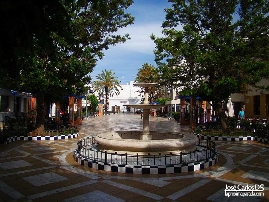 Plaza de las Flores en Isla Cristina