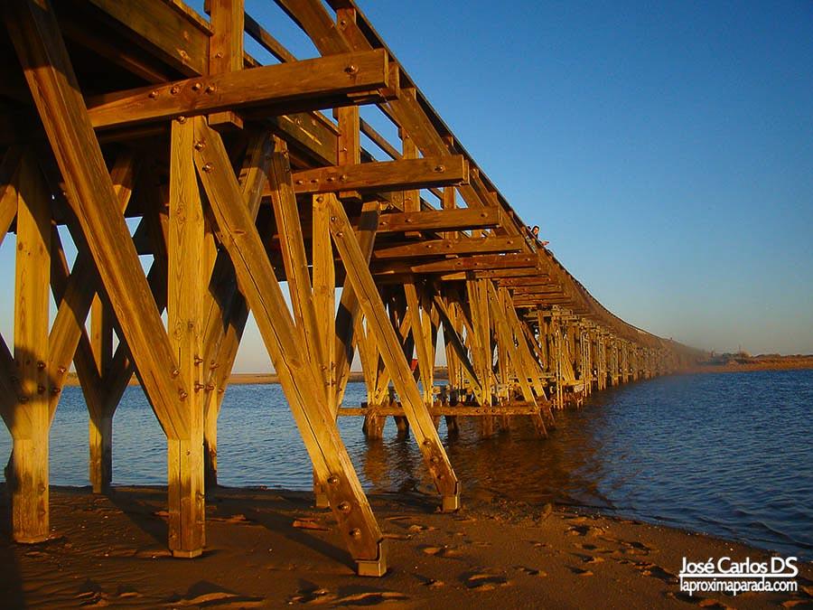 Puente de la Gola, Isla Cristina