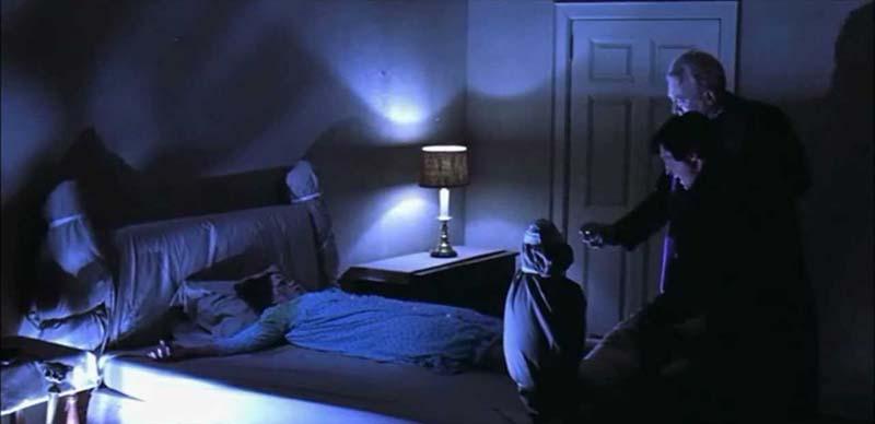 Pequeña Regan en El exorcista
