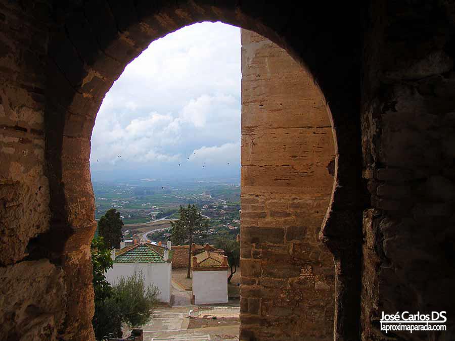 Interior castillo de Álora