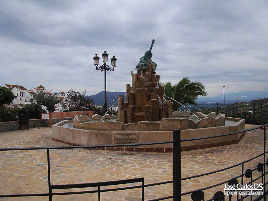 Monumento al cante por la Malagueña Alora