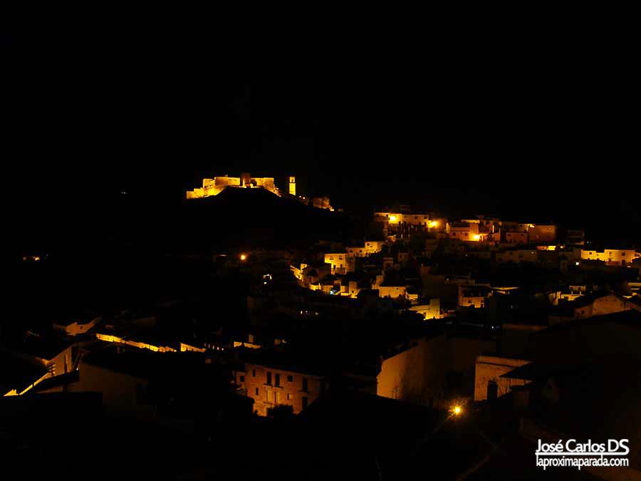Noche en Álora